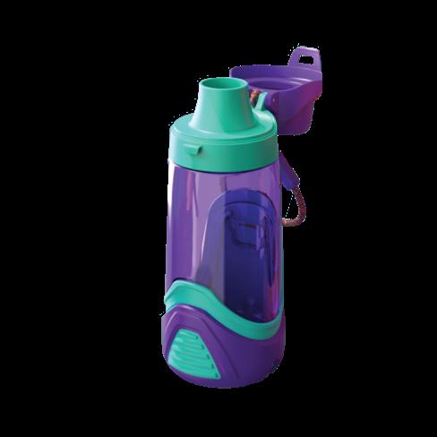 Botella para niños morada