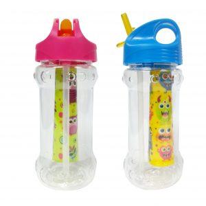Botella Infantil con Pajita